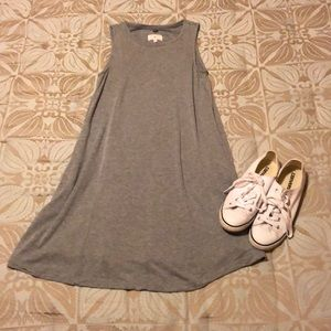 Lou & Grey knit sleeveless dress XS